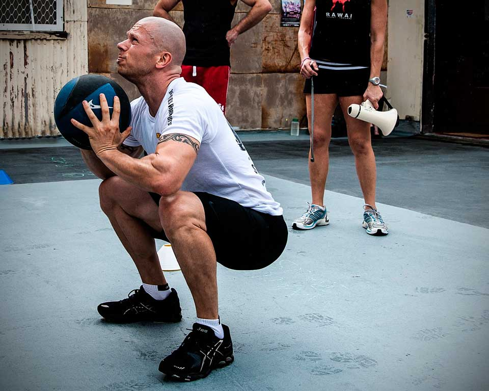 Personal training crossfit sports training
