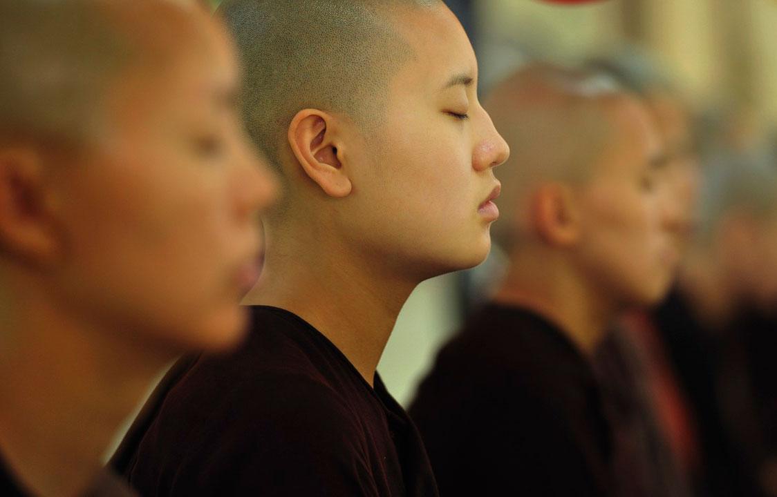 Budhist meditation techniques