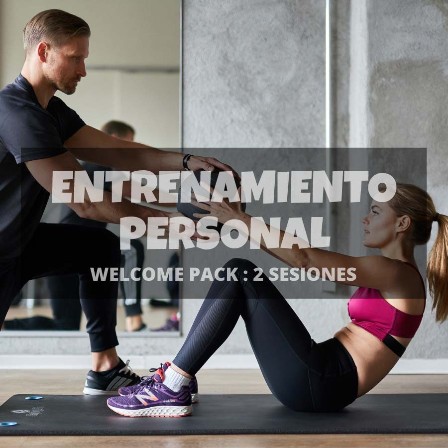 Welcome pack entrenamiento personal