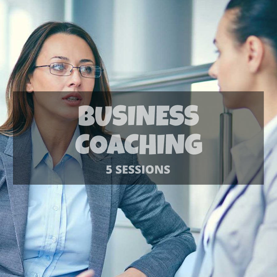 5 Business coaching sessions