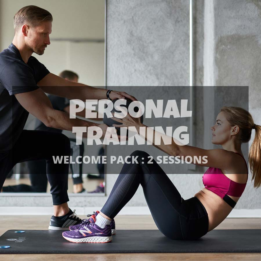 Welcome pack 2 Personal Training sessions
