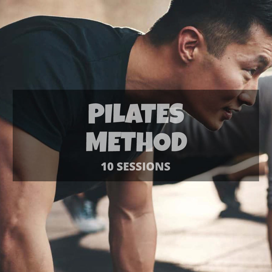 10 Pilates method sessions