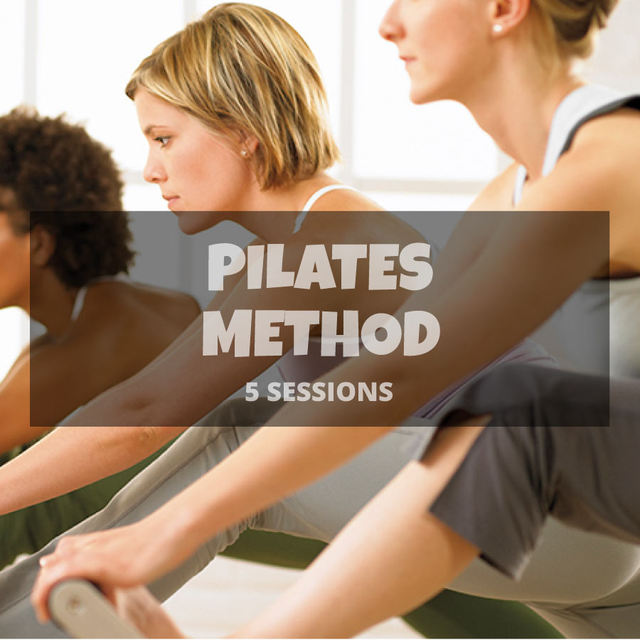 5 Pilates method sessions